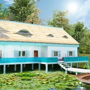 Casa de vacanta in Delta Dunarii
