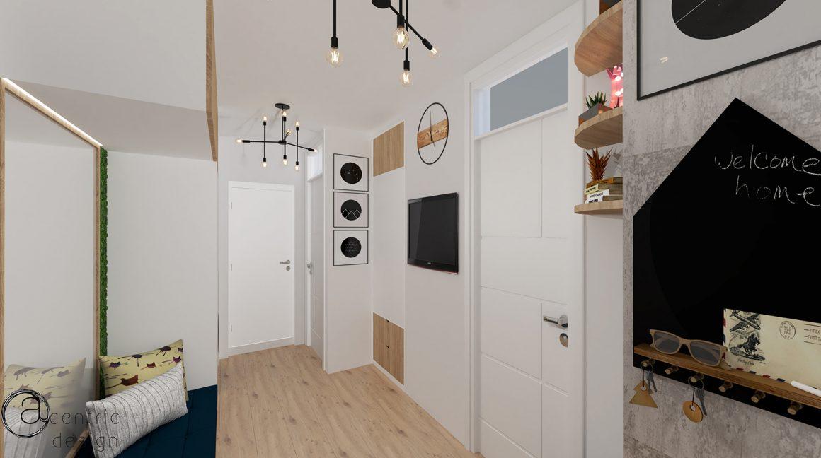 Classroom Apartment – Apartament cu doua camere